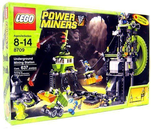 LEGO Power Miners Set 8709 Underground Mining Station Limited Edition * More info could be found at the image url.