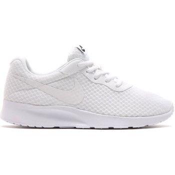 trendy Nike tanjun dames sneakers (Wit)