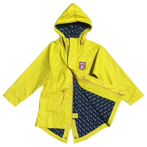 Derbe Kinder Jacke Travel Kids Anchor Yellow