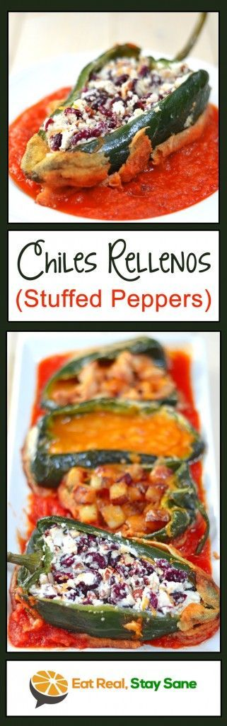 The Ultimate Gluten Free, Healthy Chiles Rellenos Recipe | Eat Real Stay Sane