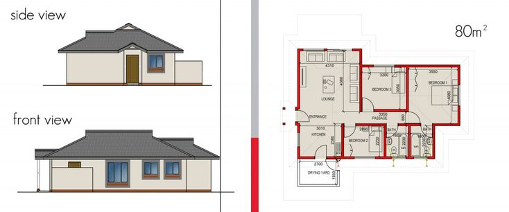 16 best images about 80m2 house plans on pinterest fun for Fun house plans