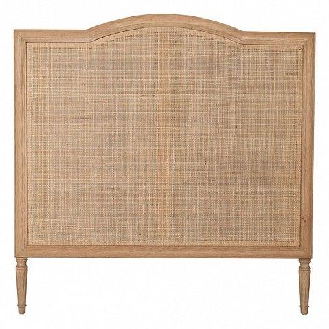Single headboard natural rattan - Trade Secret