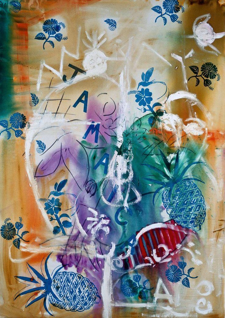 Stefan Szczesny, Calypso, 210 x 150 cm