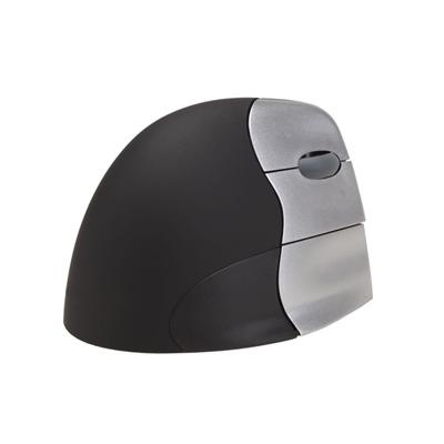 Evoluent Right-Handed Vertical Mouse 4 Corded. The Evoluent™ VerticalMouse™ 4 is the advanced fourth generation of the revolutionary mouse that amazingly relieved wrist and arm pain (according to many user reports). The shape has been further refined in subtle details based on the ergonomic lessons learned from the previous two generations.