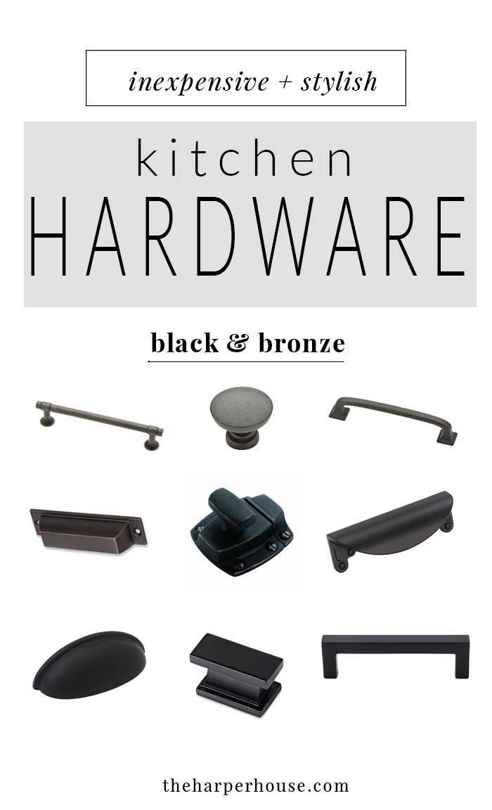 Lovely Kitchen Hardware: 27 Budget Friendly Options
