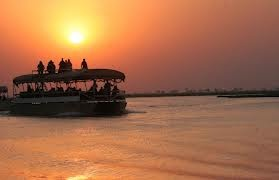Chobe Marina Lodge is surrounded by the beauty of nature.