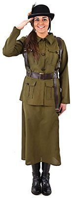 #Ladies 1940s army home #guard military armed #forces ww1 ww2 fancy dress costume,  View more on the LINK: http://www.zeppy.io/product/gb/2/331940089979/