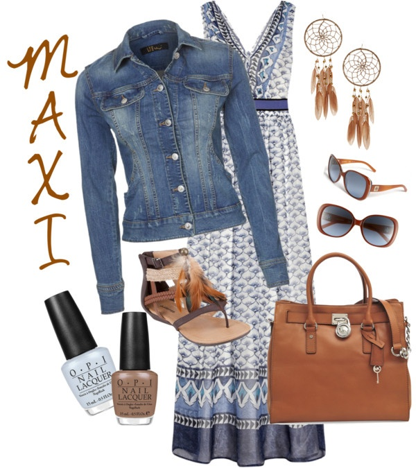 """""""Casual Maxi Outfit"""" By Christine Cardall on Polyvore"""