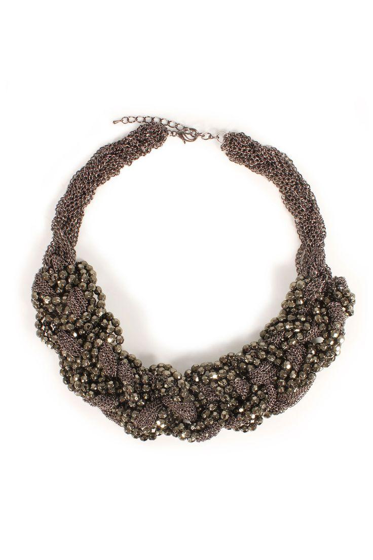 SECOND FEMALE Statement-Kette NOA SHORT NECKLACE bei myClassico Online Shop für TOP-Fashion