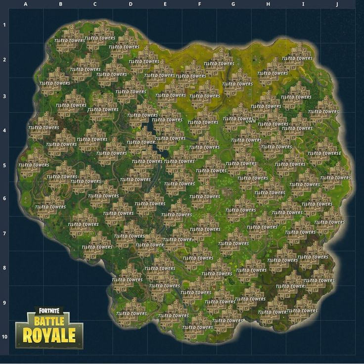 New Fortnite Battle Royale Map Idea Latestgames
