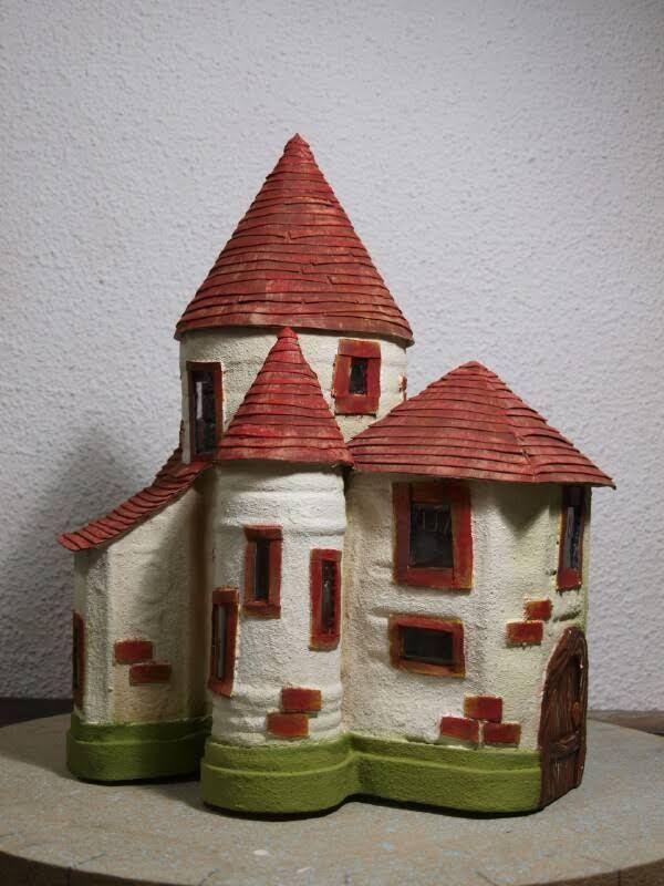 Gnome Garden: 14 Best Castles From Bottles Images On Pinterest