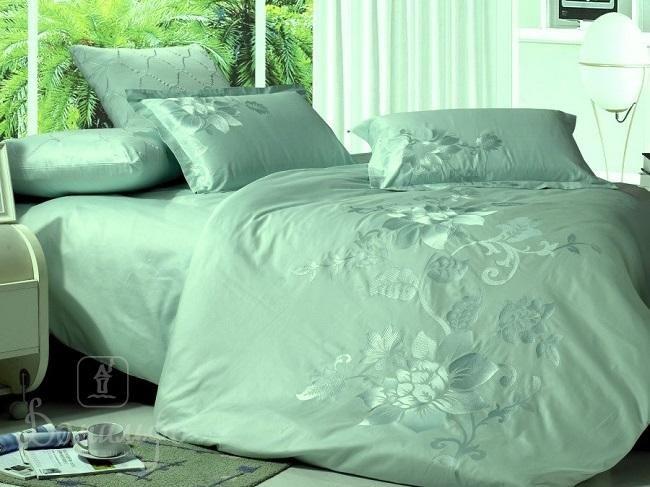 Постельное белье PAVEKTO зеленое 2-сп от KingSilk (Китай) - купить по низкой цене в интернет магазине Домильфо