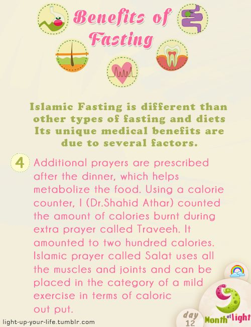 Month Of Light Health Benefits Of Islamic Fasting Benefit (4) written by: Dr. Shahid Athar