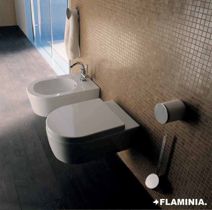 Vasi e bidet/Wc and bidet, LINK - G. Cappellini + R. Palomba - 1999  #CeramicaFlaminia #Bathroom