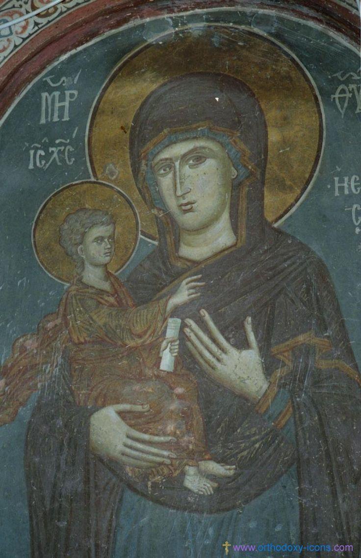 Frescoes of the Church of St. Nikita. Serbia (1320). Part IV