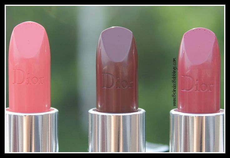 Imprint in Lipsticks- Fall 2015 Dior Rouge Lipsticks