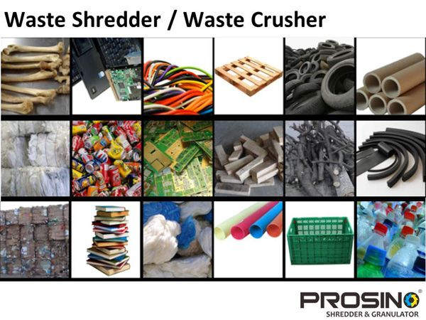 Waste shredder or waste crusher is an ideal size reduction machine which can shred or crush a wide range of waste materials incl cardboard waste, plastic waste, rubber waste, wood waste, E-waste, and textile waste etc. How to maximize waste reduction through a waste shredder or waste crusher?