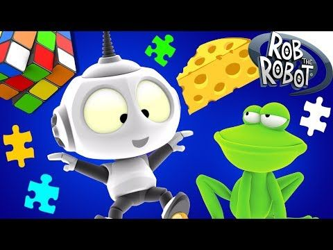 Cartoon | Around the Galaxy #1 - Rob The Robot | Space Cartoons For Children - YouTube