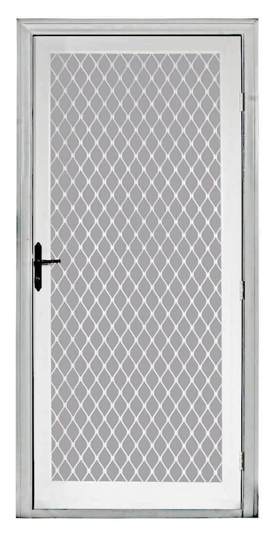 Atlas Swing Security Screen Door Yellow Dog Windows Inc In 2019 Aluminum Screen Doors