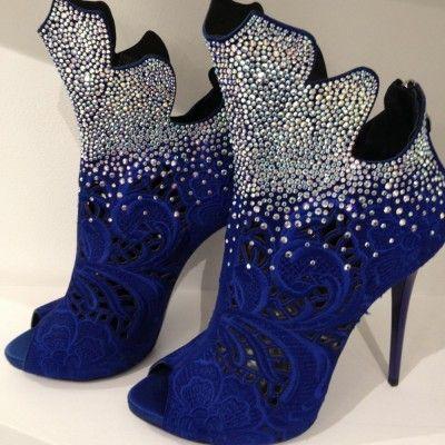 Blue Bling by Gianmarco Lorenzi