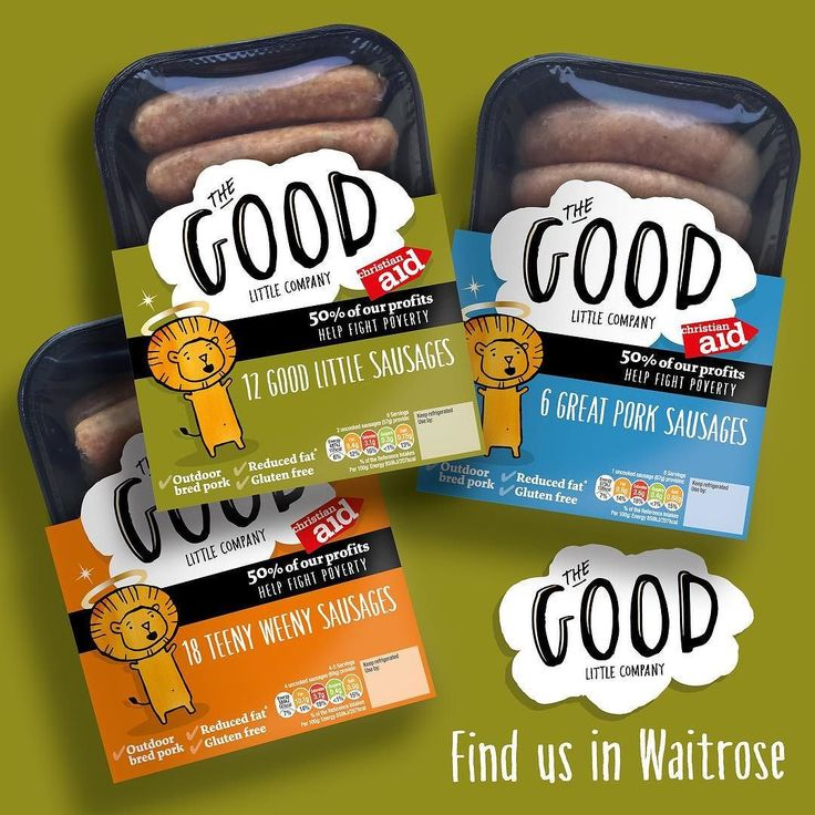 Did you know our @goodlittlecomp sausages are available in @Waitrose? #Waitrose #GlutenFree #goodlittlecompany #sausages #british #produce #food #foodsgram #packshot #pork #finnebrogue by finnebrogue_artisan