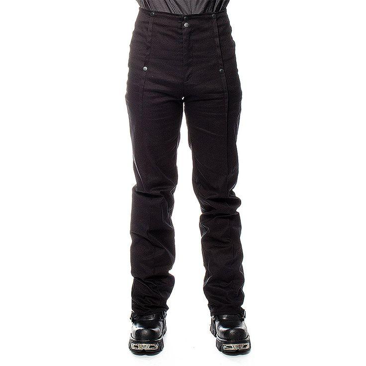 Golden Steampunk Emporium Trousers (Black)