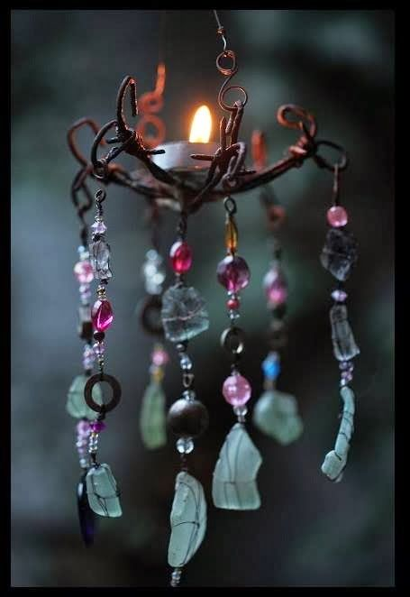 Bohemian Pages: DIY Friday- Wind-chimes & A Birthday....