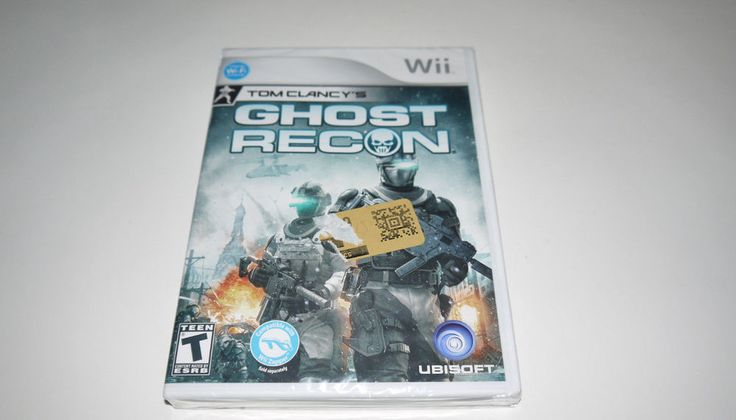 Tom Clancy's Ghost Recon (Nintendo Wii, 2010) Factory Sealed