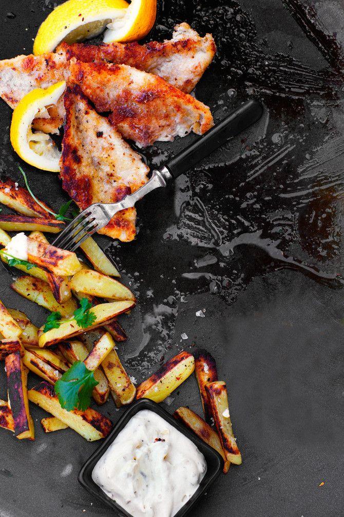 Fish & chips ahvenesta