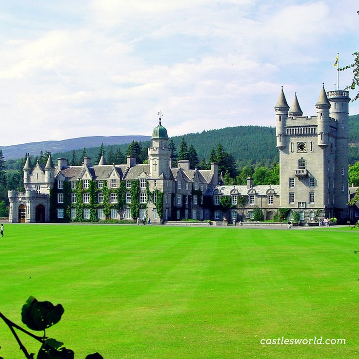 Balmoral Castle, Scotland One of the residences for members of the British Royal Family since 1852, when the estate and its original castle were purchased privately by Prince Albert, consort to Queen Victoria