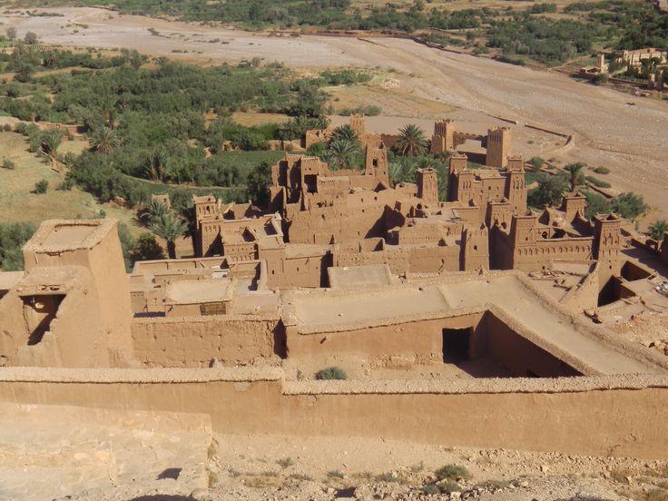 village d ait benhaddou au maroc un des mieux conserver du sud du maroc au porte du désert