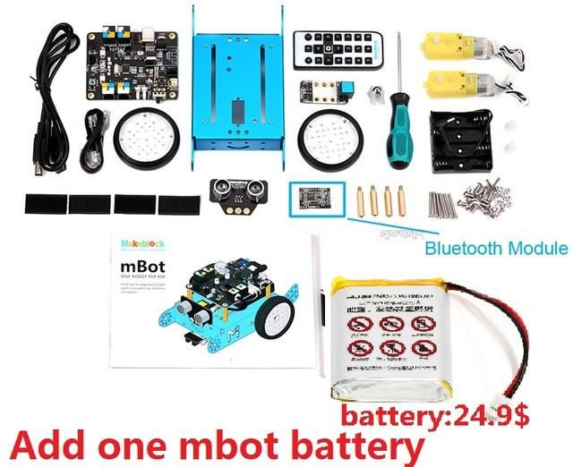 2016 Newest Makeblock Mbot V1.1 Programmable Kids Toys Educational birthday Gift Scratch 2.0 Arduino DIY Smart Robot Car Kit