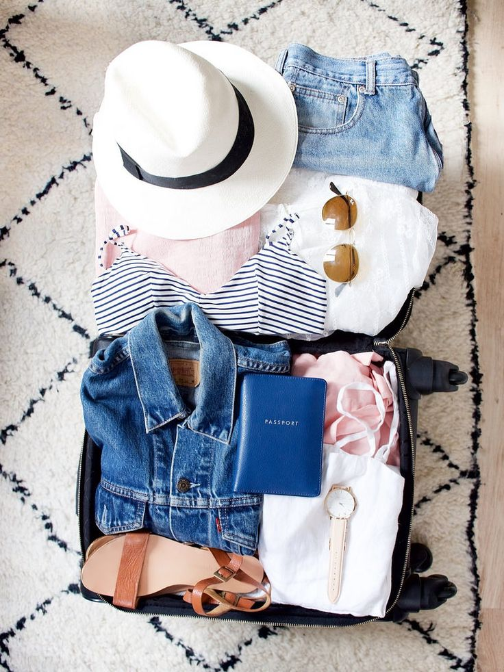 PACKING FOR A HOLIDAY: COLOUR CAPSULES « a pair & a spare