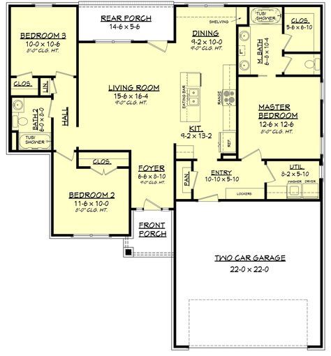 This wonderful 3 bedroom 2 bath home is packed with features.