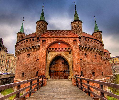 Barbakan Krakowski, Krakow - Poland