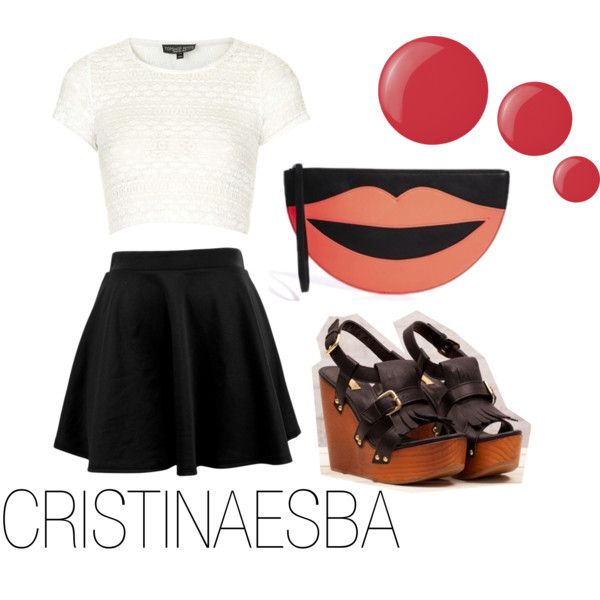 """Short outfit"" by cristinaesba on Polyvore"