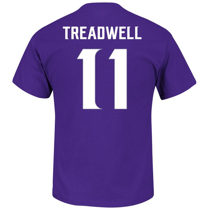 Men's Laquon Treadwell Minnesota Vikings Majestic Purple Eligible Receiver Name and Number T-Shirt