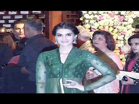 Kriti Sanon At Mukesh Ambani's Niece's Pre Wedding Party.