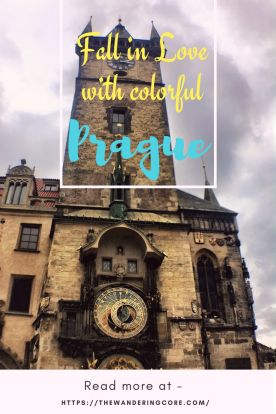 Fall in love with colourful Prague, Czech Republic #europe #prague #travel #thewanderingcore #wanderingprague