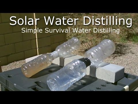 Simple Solar Water Distilling - Easy DIY (video) | reThinkSurvival.com