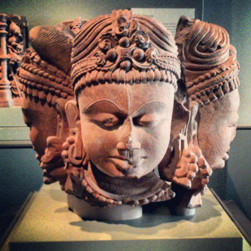 Te comparto fotos que tomé en el museo de arte asiático en San Francisco en marzo.