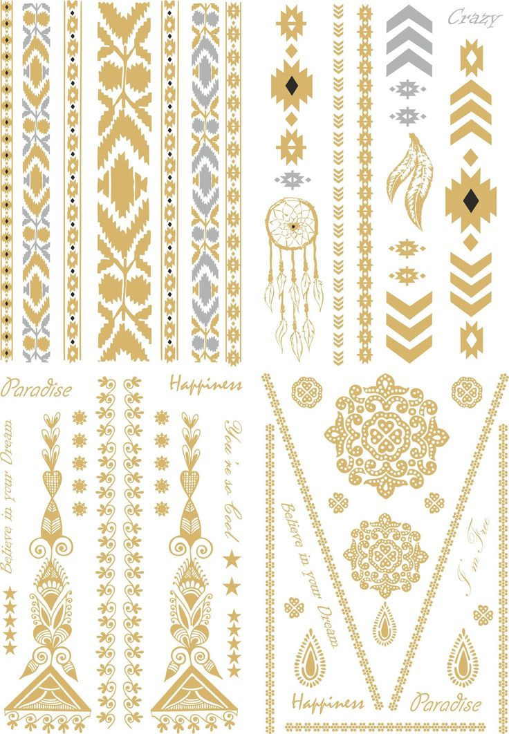 Skin Jewel Tattoos are metallic temporary tattoos with the look of real jewels. They have the simplicity of a temporary tattoo with amazing and original metallic designs to create a fabulous look that