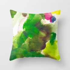 THE GREEN KING Throw Pillow