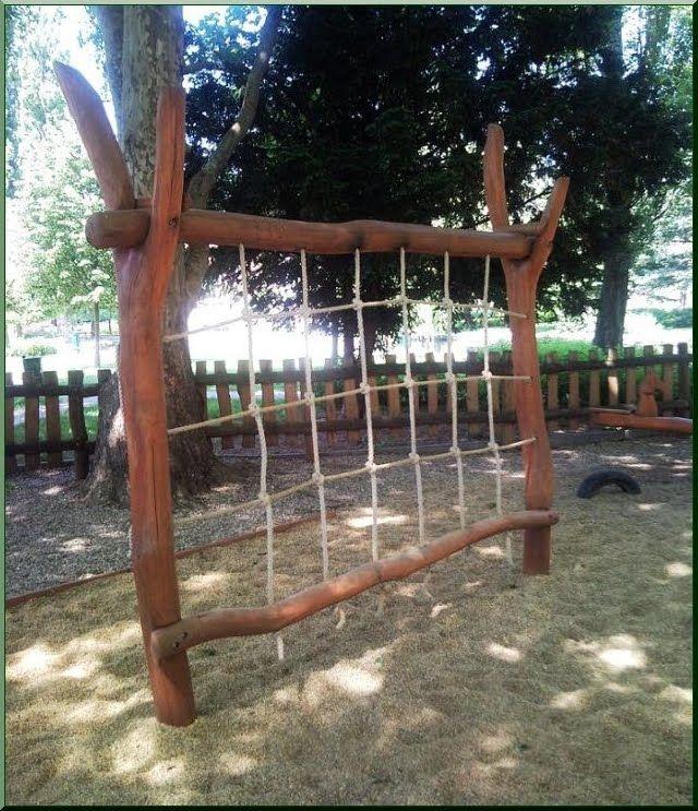 Spielgeräte - Akazien Holz Ildare