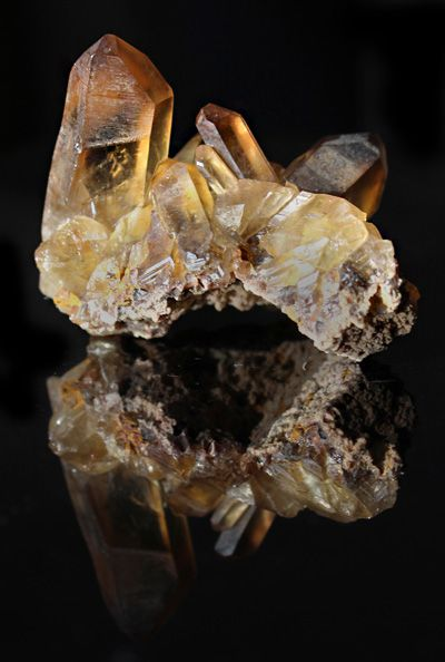 WOW AAA Natural Citrine Cluster