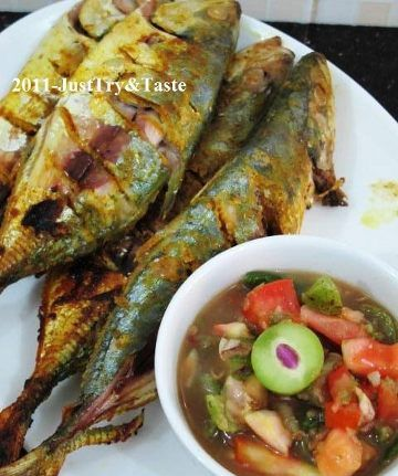 Indonesian Recipe: Kembung Bakar #Indonesian recipes #Indonesian cuisine #Asian recipes http://indostyles.com