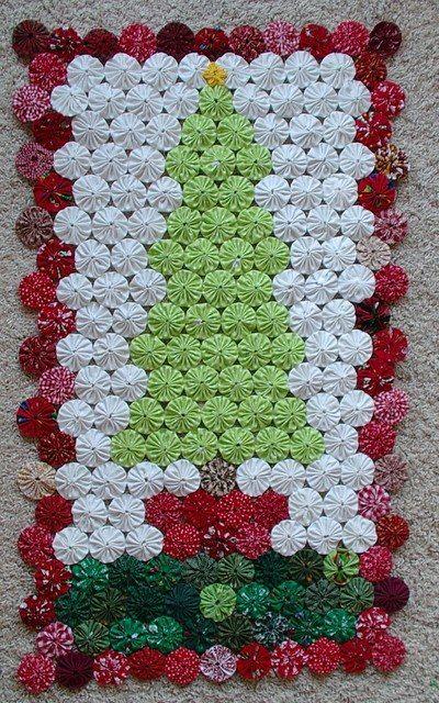 Лоскутное шитье в технике йо-йо – 156 фотографий