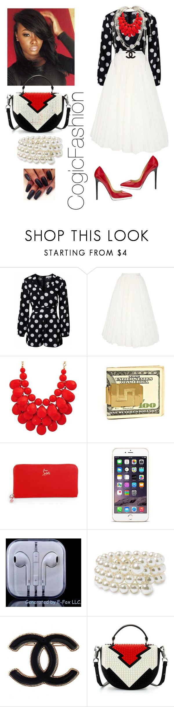 """Communion Sunday!!!"" by cogic-fashion ❤ liked on Polyvore featuring Alberta Ferretti, Chanel, Christian Louboutin and Nordstrom"