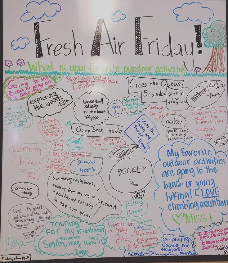 Happy Fresh Air Friday! I'm pretty sure if these kids could be outside 24/7…