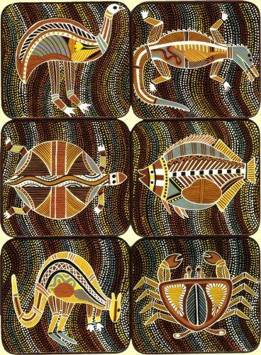Aboriginal Art Animals 368 x 500